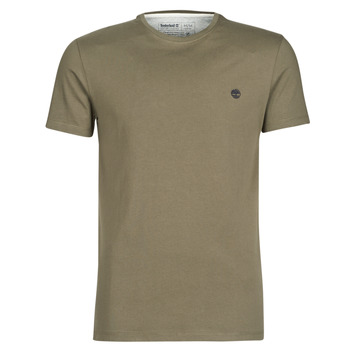 vaatteet Miehet Lyhythihainen t-paita Timberland SS DUNSTAN RIVER CREW TEE Kaki