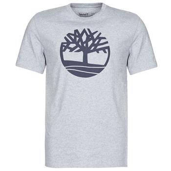 vaatteet Miehet Lyhythihainen t-paita Timberland SS KENNEBEC RIVER BRAND TREE TEE Harmaa