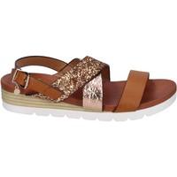 kengät Naiset Sandaalit ja avokkaat Rocco Barocco Sandaalit BP202 Ruskea