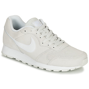 kengät Miehet Matalavartiset tennarit Nike MD RUNNER 2 SUEDE Grey / White