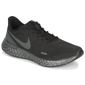 kengät Miehet Juoksukengät / Trail-kengät Nike REVOLUTION 5 Musta