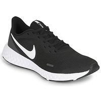 kengät Miehet Juoksukengät / Trail-kengät Nike REVOLUTION 5 Musta / Valkoinen