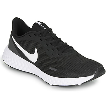 kengät Miehet Urheilukengät Nike REVOLUTION 5 Black / White