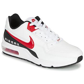 kengät Miehet Matalavartiset tennarit Nike AIR MAX LTD 3 Valkoinen / Musta / Punainen