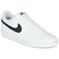 kengät Miehet Matalavartiset tennarit Nike COURT VISION LOW White / Black