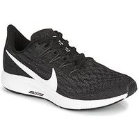 kengät Naiset Juoksukengät / Trail-kengät Nike ZOOM PEGASUS 36 Black / White