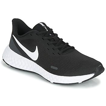 kengät Naiset Urheilukengät Nike REVOLUTION 5 Black / White