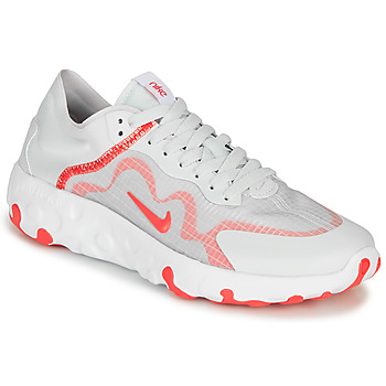kengät Naiset Matalavartiset tennarit Nike RENEW LUCENT White / Red