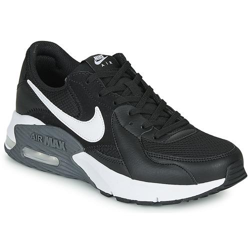 kengät Naiset Matalavartiset tennarit Nike AIR MAX EXCEE Black / White