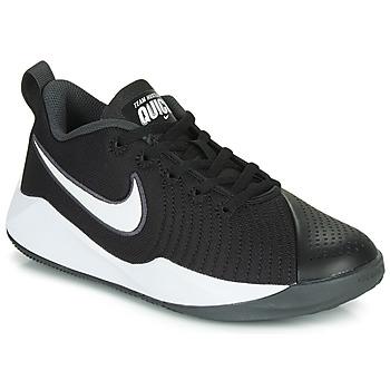 kengät Lapset Urheilukengät Nike TEAM HUSTLE QUICK 2 GS Black / White