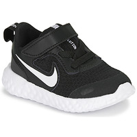 kengät Lapset Matalavartiset tennarit Nike REVOLUTION 5 TD Black / White