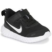 kengät Lapset Urheilukengät Nike REVOLUTION 5 TD Musta / Valkoinen