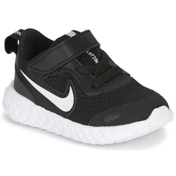 kengät Lapset Urheilukengät Nike REVOLUTION 5 TD Black / White