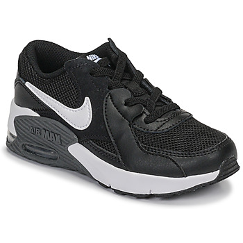 kengät Lapset Matalavartiset tennarit Nike AIR MAX EXCEE PS Black / White
