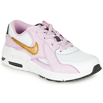 kengät Tytöt Matalavartiset tennarit Nike AIR MAX EXCEE PS Black / Pink