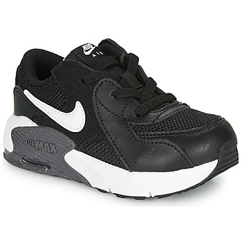 kengät Lapset Matalavartiset tennarit Nike AIR MAX EXCEE TD Black / White