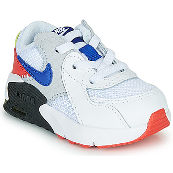 kengät Lapset Matalavartiset tennarit Nike AIR MAX EXCEE TD White / Black / Blue