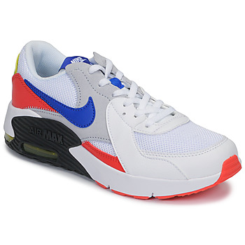 kengät Lapset Matalavartiset tennarit Nike AIR MAX EXCEE GS White / Blue / Red