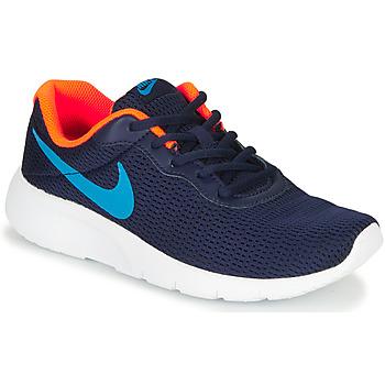 kengät Pojat Matalavartiset tennarit Nike TANJUN GS Blue