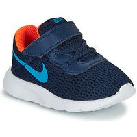kengät Pojat Matalavartiset tennarit Nike TANJUN TD Blue