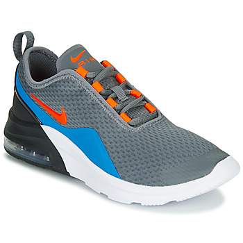 kengät Lapset Matalavartiset tennarit Nike AIR MAX MOTION 2 GS Grey / Blue