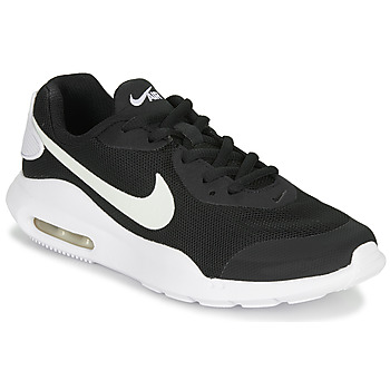kengät Lapset Matalavartiset tennarit Nike AIR MAX OKETO GS Black / White