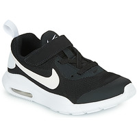 kengät Lapset Matalavartiset tennarit Nike AIR MAX OKETO PS Black / White
