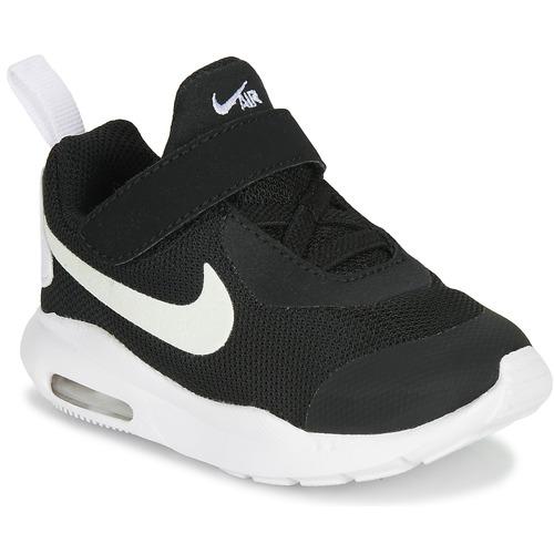 kengät Lapset Matalavartiset tennarit Nike AIR MAX OKETO TD Black / White