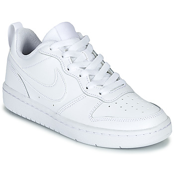 kengät Lapset Matalavartiset tennarit Nike COURT BOROUGH LOW 2 GS White
