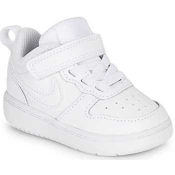 kengät Lapset Matalavartiset tennarit Nike COURT BOROUGH LOW 2 TD White