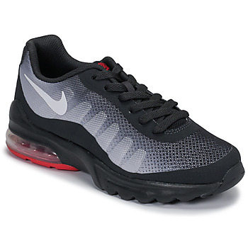 kengät Lapset Matalavartiset tennarit Nike AIR MAX INVIGOR GS Black / Red