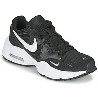kengät Lapset Matalavartiset tennarit Nike AIR MAX FUSION GS Black / White