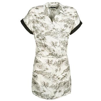 vaatteet Naiset Lyhyt mekko Volcom VACAY ME SS DRESS White