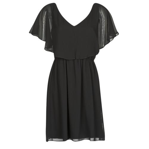 vaatteet Naiset Lyhyt mekko Naf Naf LAZALE Black