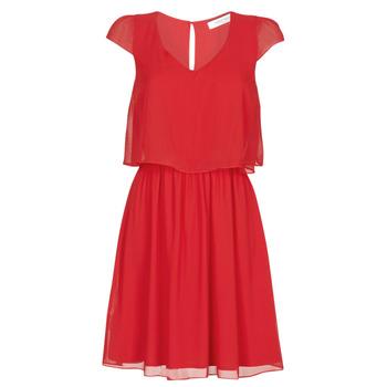 vaatteet Naiset Lyhyt mekko Naf Naf NEW JOEY Punainen