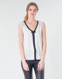 vaatteet Naiset Topit / Puserot Naf Naf CORAZON Valkoinen