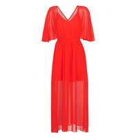 vaatteet Naiset Pitkä mekko Naf Naf CAMILLE R1 Red