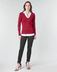 vaatteet Naiset 5-taskuiset housut Morgan PETRA Black