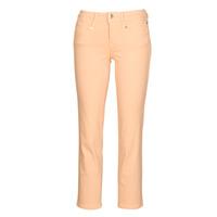 vaatteet Naiset 5-taskuiset housut Freeman T.Porter Loreen New Magic Color Koralli / vaaleanpunainen
