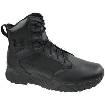 kengät Miehet Vaelluskengät Under Armour Stellar Tactical Mustat