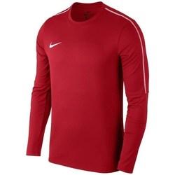 vaatteet Miehet Svetari Nike Park 18 Crew Top Training Punainen