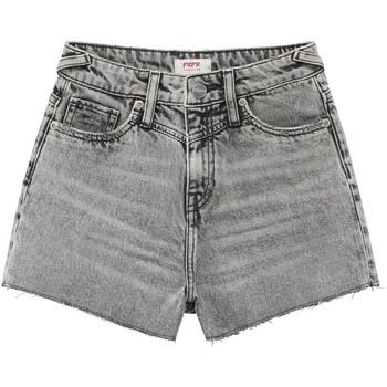 vaatteet Tytöt Shortsit / Bermuda-shortsit Pepe jeans ROXIE Grey