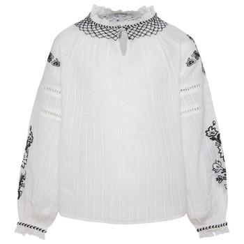 vaatteet Tytöt Topit / Puserot Pepe jeans RONIE White