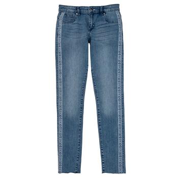 vaatteet Tytöt Skinny-farkut Guess GABIN Sininen