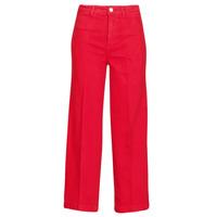 vaatteet Naiset Bootcut-farkut Tommy Hilfiger BELL BOTTOM HW CCLR Punainen