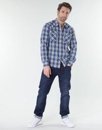 vaatteet Miehet Suorat farkut Levi's 502™ TAPER Biologia