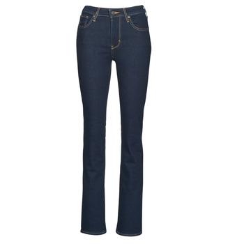 vaatteet Naiset Bootcut-farkut Levi's 725 HIGH RISE BOOTCUT Sininen