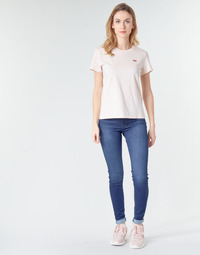 vaatteet Naiset Skinny-farkut Levi's 720 HIRISE SUPER SKINNY Echo