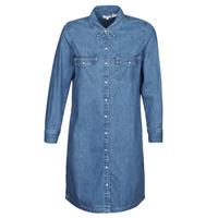 vaatteet Naiset Lyhyt mekko Levi's SELMA DRESS Sininen
