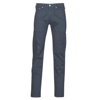 vaatteet Miehet 5-taskuiset housut Levi's 511™ SLIM FIT Laivastonsininen